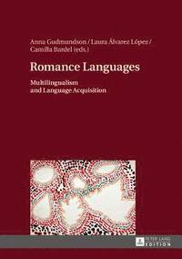 bokomslag Romance Languages