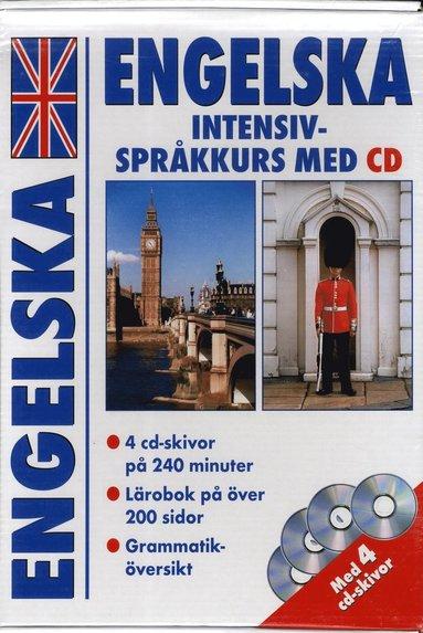 bokomslag Engelska intensiv - språkkurs med cd