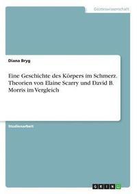 bokomslag Eine Geschichte Des Korpers Im Schmerz. Theorien Von Elaine Scarry Und David B. Morris Im Vergleich