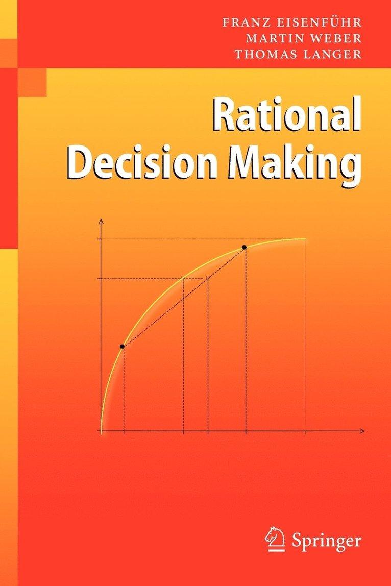 Rational Decision Making 1
