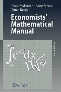 bokomslag Economists' Mathematical Manual
