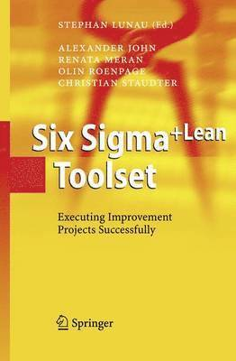 bokomslag Six sigma+lean toolset - executing improvement projects successfully