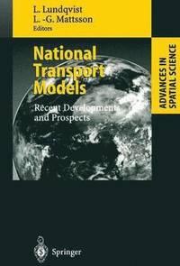 bokomslag National Transport Models