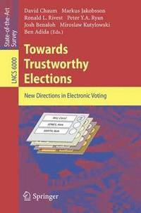 bokomslag Towards Trustworthy Elections