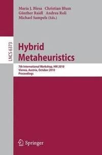 bokomslag Hybrid Metaheuristics