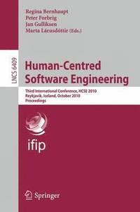 bokomslag Human-Centred Software Engineering