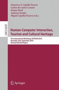 bokomslag Human Computer Interaction, Tourism and Cultural Heritage