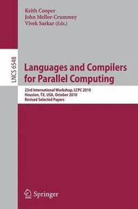 bokomslag Languages and Compilers for Parallel Computing