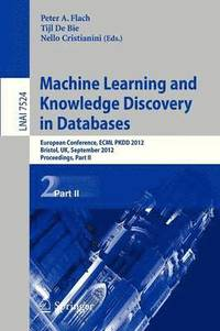 bokomslag Machine Learning and Knowledge Discovery in Databases