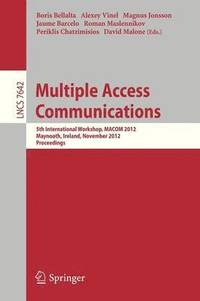 bokomslag Multiple Access Communications