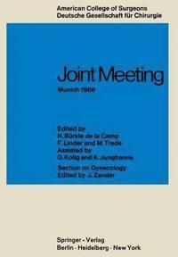 bokomslag Joint Meeting Munich 1968