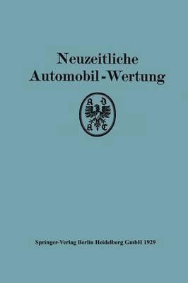 bokomslag Neuzeitliche Automobil-Wertung