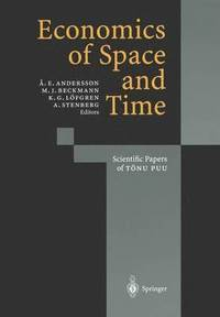 bokomslag Economics of Space and Time