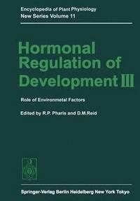 bokomslag Hormonal Regulation of Development III