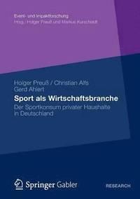 bokomslag Sport ALS Wirtschaftsbranche