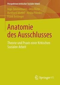 bokomslag Anatomie Des Ausschlusses