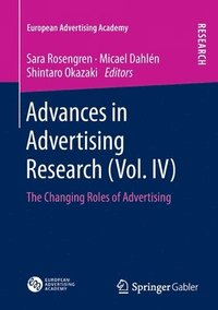 bokomslag Advances in Advertising Research (Vol. IV)