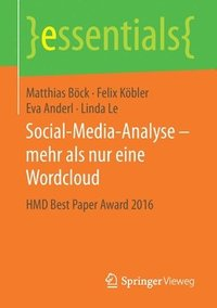 bokomslag Social-Media-Analyse - Mehr ALS Nur Eine Wordcloud