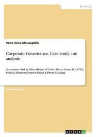 bokomslag Corporate Governance. Case study and analysis