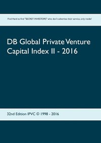 bokomslag DB Global Private Venture Capital Index II - 2016
