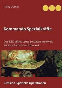 bokomslag Kommando Spezialkrafte 3 - Division Spezielle Operationen