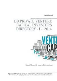 bokomslag DB Private Venture Capital Investors Directory I - 2014