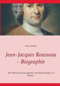bokomslag Jean-Jacques Rousseau - Biographie