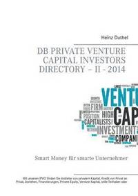 bokomslag DB Private Venture Capital Investors Directory - II - 2014