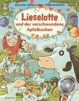 bokomslag Lieselotte und der verschwundene Apfelkuchen. Buch mit CD
