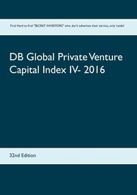 bokomslag DB Global Private Venture Capital Index IV- 2016