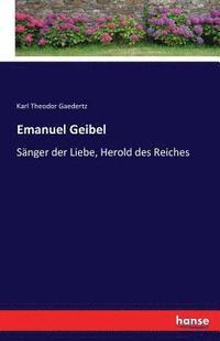 bokomslag Emanuel Geibel
