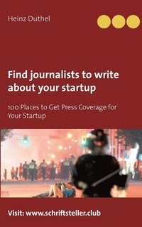 bokomslag Find journalists to write about your startup
