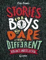 bokomslag Stories for Boys Who Dare to be Different - Vom Mut, anders zu sein