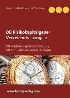 bokomslag DB Risikokapitalgeber Verzeichnis - 2019 - 2