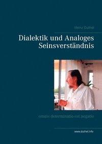 bokomslag Dialektik und Analoges Seinsverstandnis