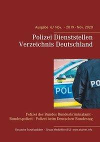 bokomslag Polizei Dienststellen Verzeichnis Deutschland
