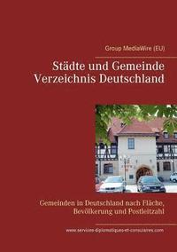 bokomslag Stadte und Gemeinde Verzeichnis Deutschland