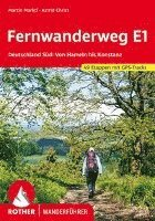 bokomslag Fernwanderweg E1 Deutschland Süd