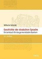bokomslag Geschichte der deutschen Sprache