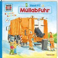 bokomslag WAS IST WAS Kindergarten, Band 11 Müllabfuhr