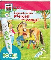 bokomslag BOOKii¿ WAS IST WAS Junior Komm mit zu den Pferden und Ponys!