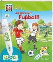 bokomslag BOOKii¿ WAS IST WAS Junior Auf geht¿s zum Fußball!
