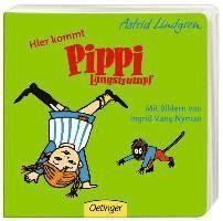 bokomslag Hier kommt Pippi Langstrumpf