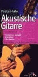 bokomslag Pocketinfo Akustische Gitarre