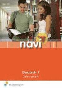 bokomslag navi Deutsch 7. Arbeitsheft