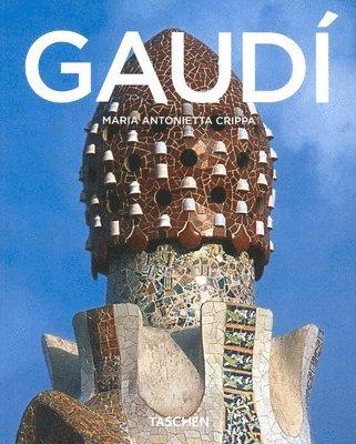 bokomslag Antoni Gaudi
