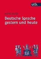 bokomslag Deutsche Sprache gestern und heute