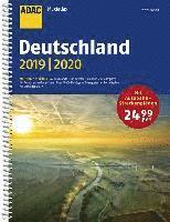 bokomslag ADAC Maxiatlas Deutschland 2019/2020 1:150 000