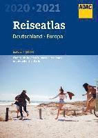 bokomslag ADAC Reiseatlas Deutschland, Europa 2020/2021 1:200 000