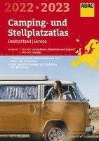 bokomslag ADAC Camping- und StellplatzAtlas2022/23 Deutschland 1:300 000, Europa 1:800 000